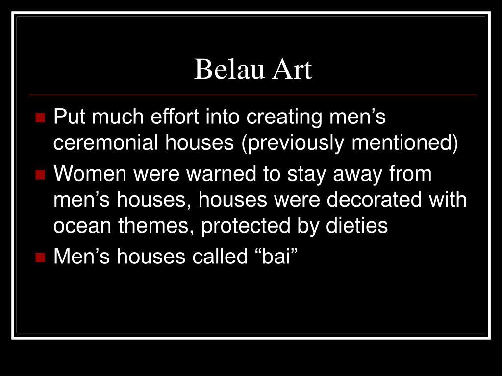 Belau Art
