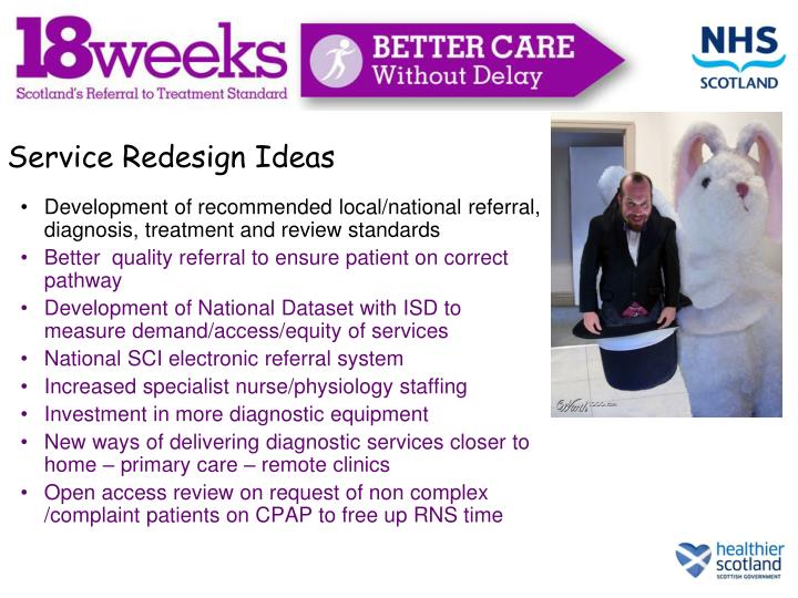 More Service Redesign Ideas