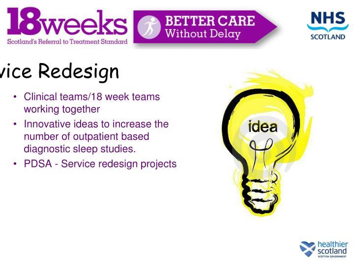 Service Redesign
