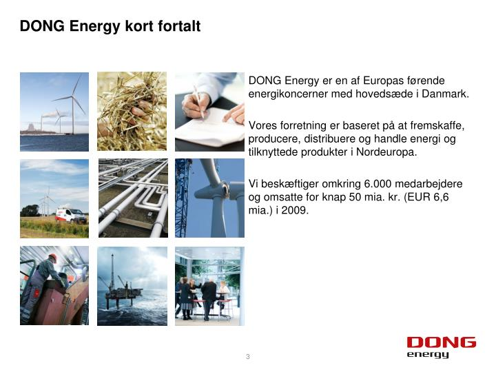 Dong energy kort fortalt