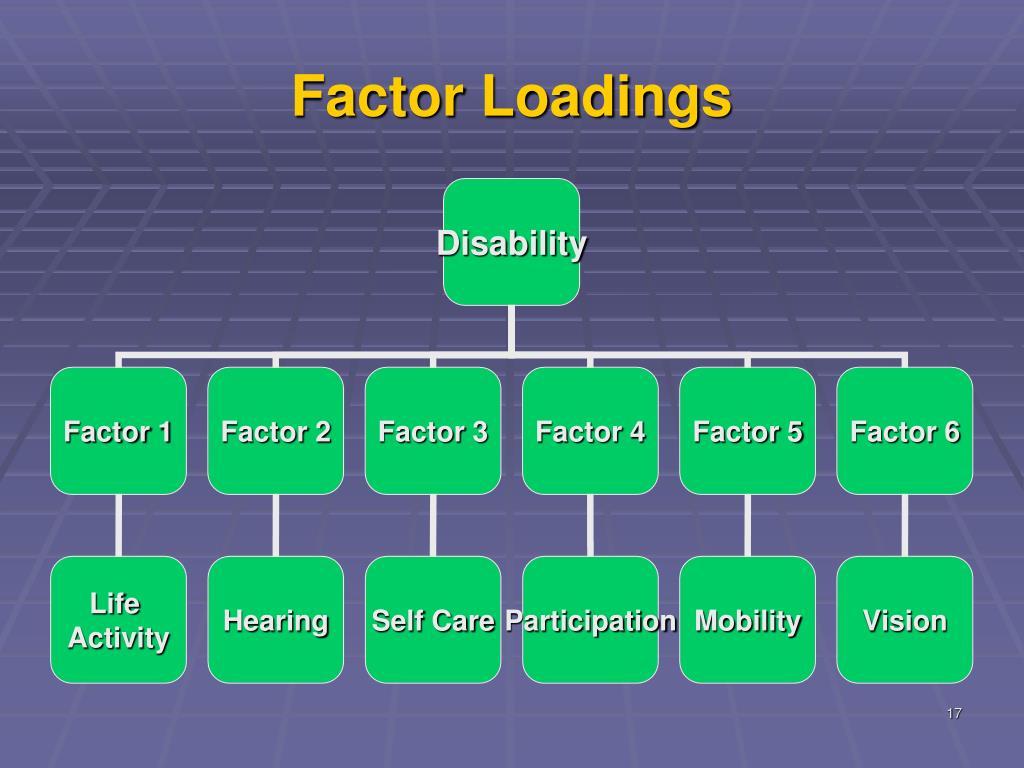 Factor Loadings