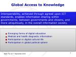 global access to knowledge