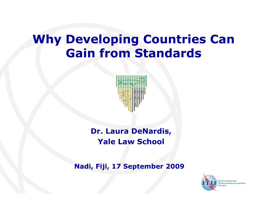 why developing countries can gain from standards