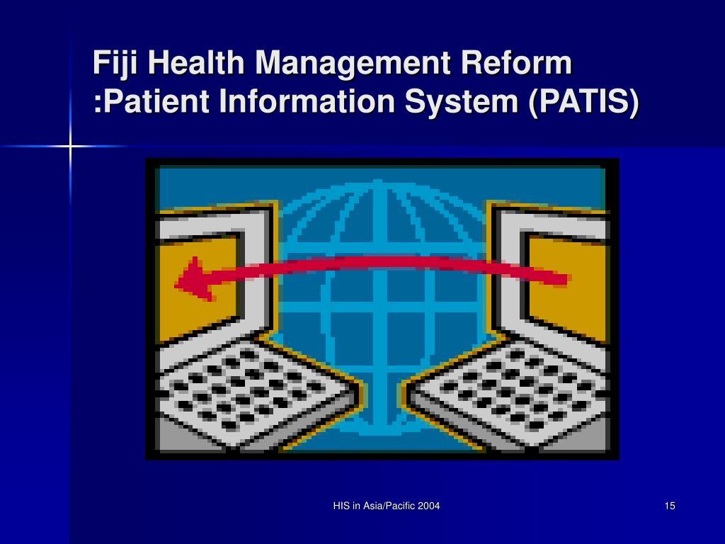 Fiji Health Management Reform