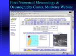 fleet numerical meteorology oceanography center monterey website