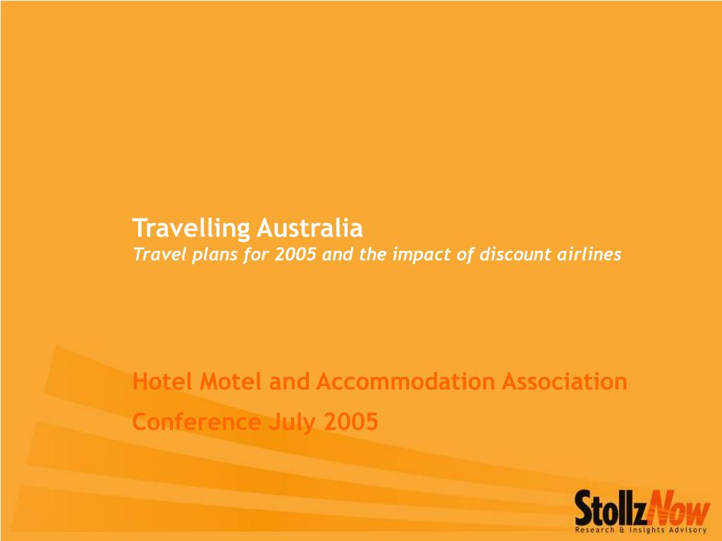 travelling australia travel plans for 2005 and the impact of discount airlines