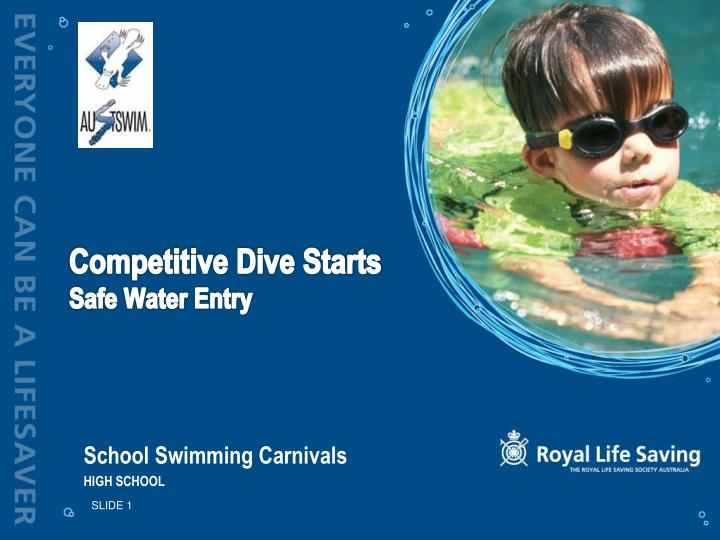competitive dive starts safe water entry n.