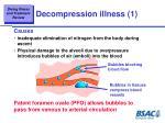 decompression illness 1