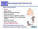 decompression illness 2