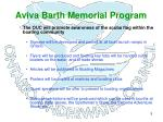 aviva barth memorial program5