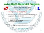 aviva barth memorial program8