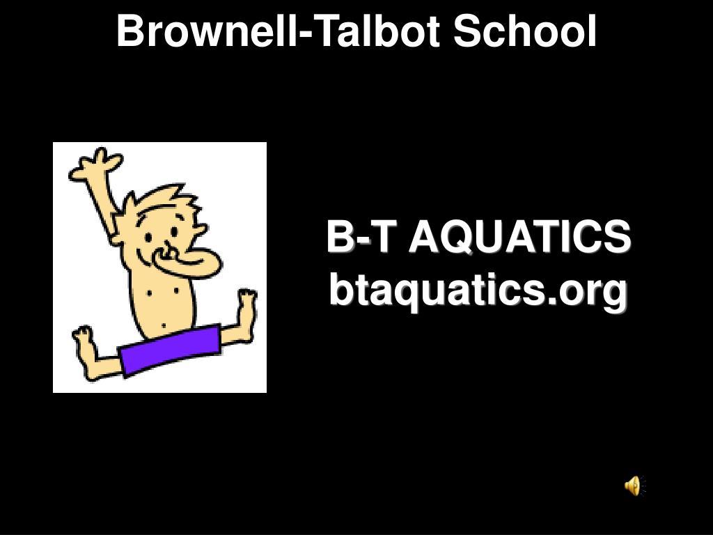 B-T AQUATICS
