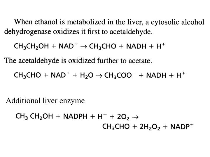 Additional liver enzyme
