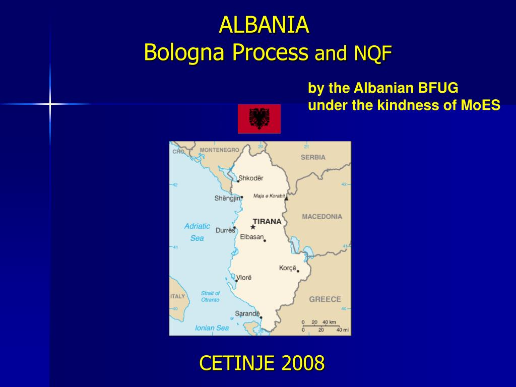 albania bologna process and nqf l.