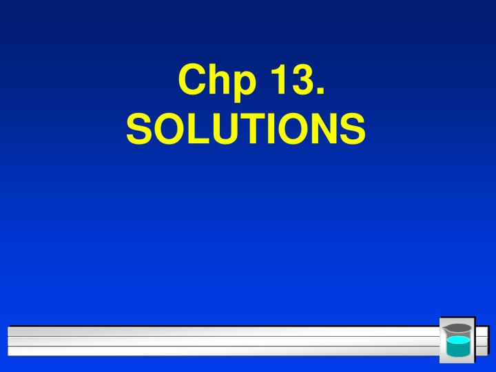 chp 13 solutions n.