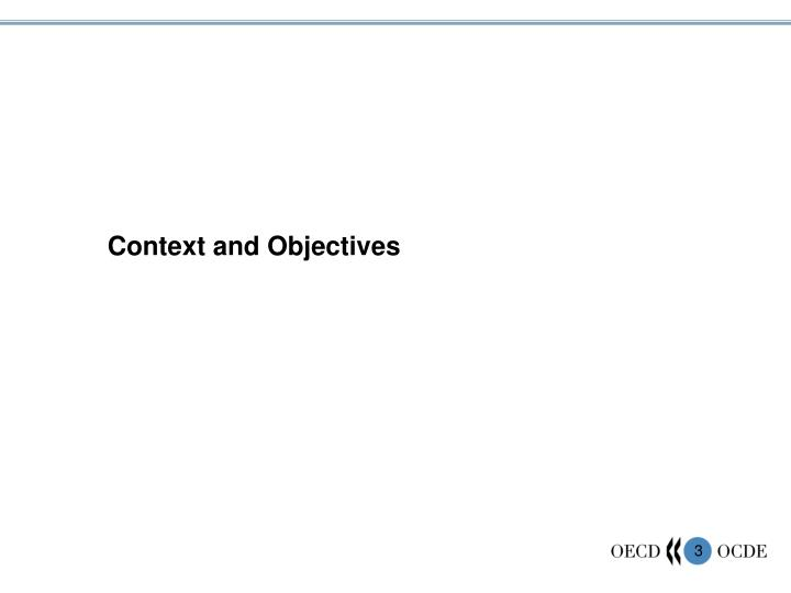 Context and Objectives