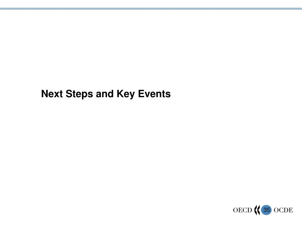 Next Steps and Key Events
