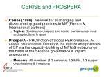 cerise and prospera