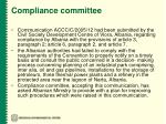 compliance committee