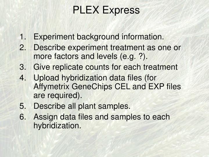PLEX Express