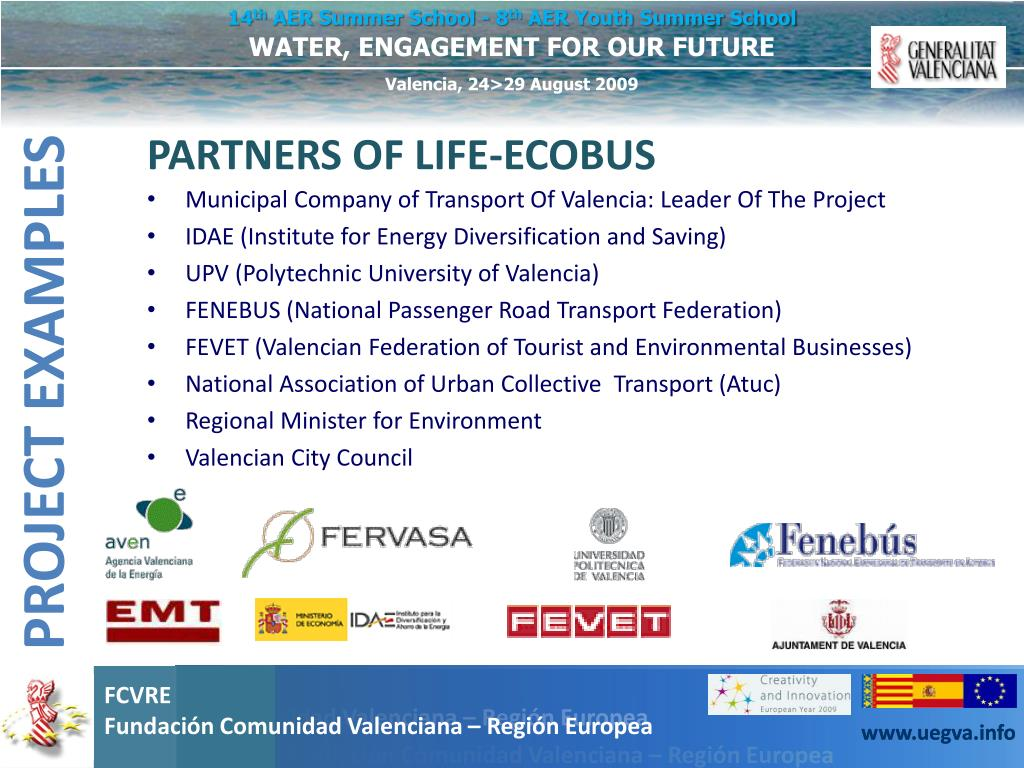 PARTNERS OF LIFE-ECOBUS