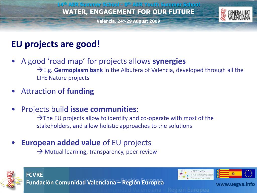 EU projects are good!