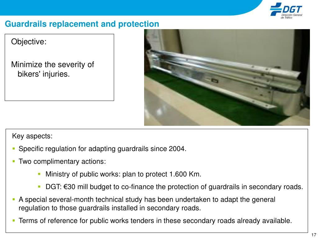 Guardrails replacement and protection