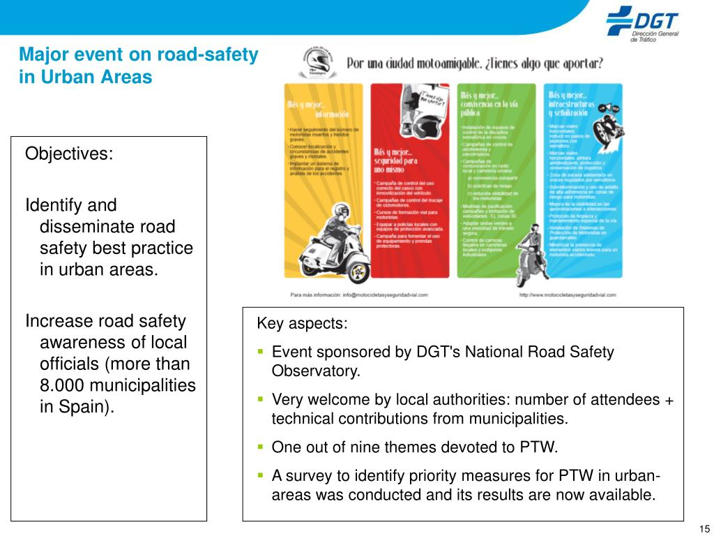 Major event on road-safety in Urban Areas