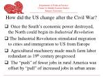 how did the us change after the civil war