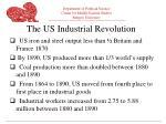 the us industrial revolution
