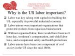 why is the us labor important