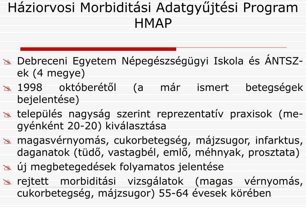 magas vérnyomás morbiditási statisztikák