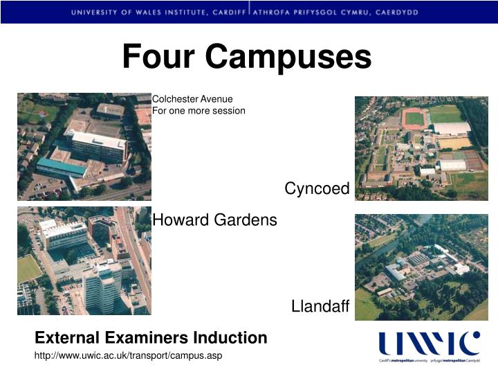 Four Campuses