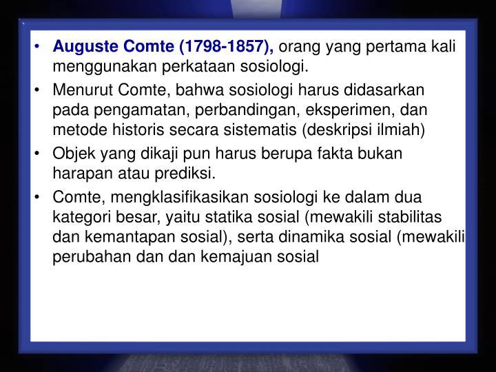 Auguste Comte (1798-1857),