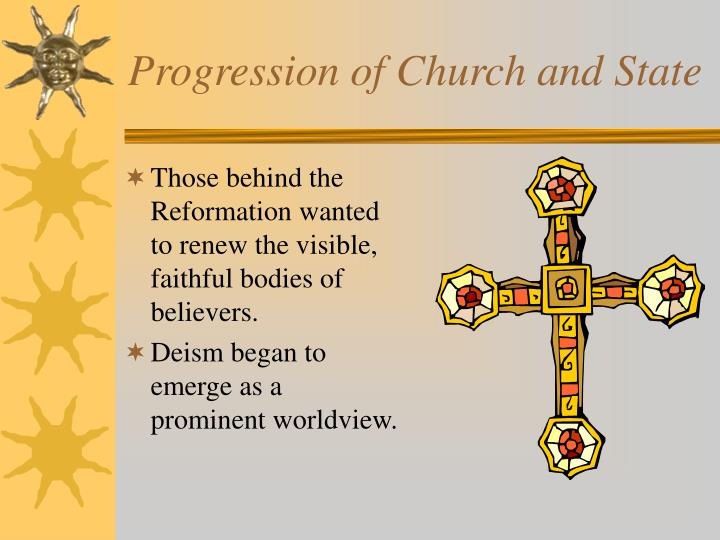 Progression of Church and State