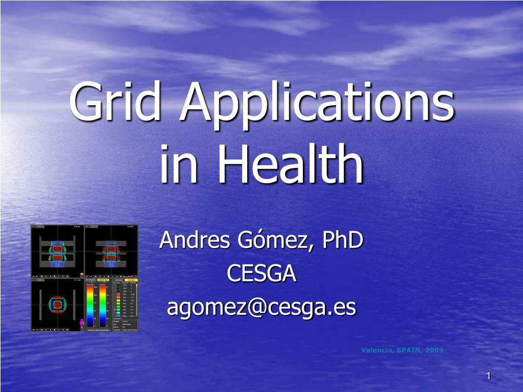 grid applications in health l.