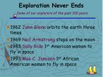 exploration never ends some of our explorers of the past 100 years14