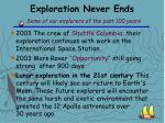 exploration never ends some of our explorers of the past 100 years15