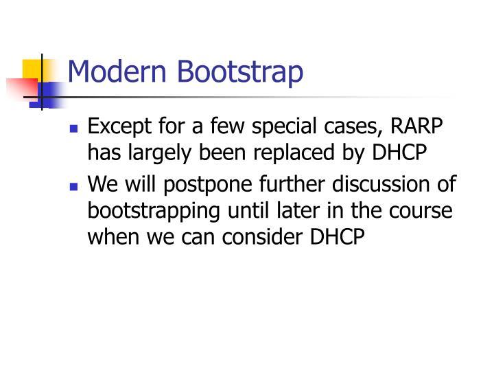 Modern Bootstrap