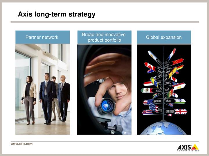 Axis long term strategy