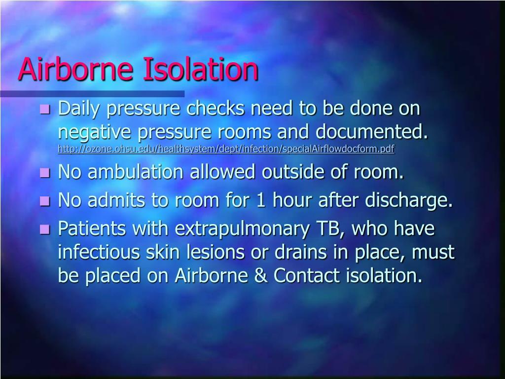 Airborne Isolation