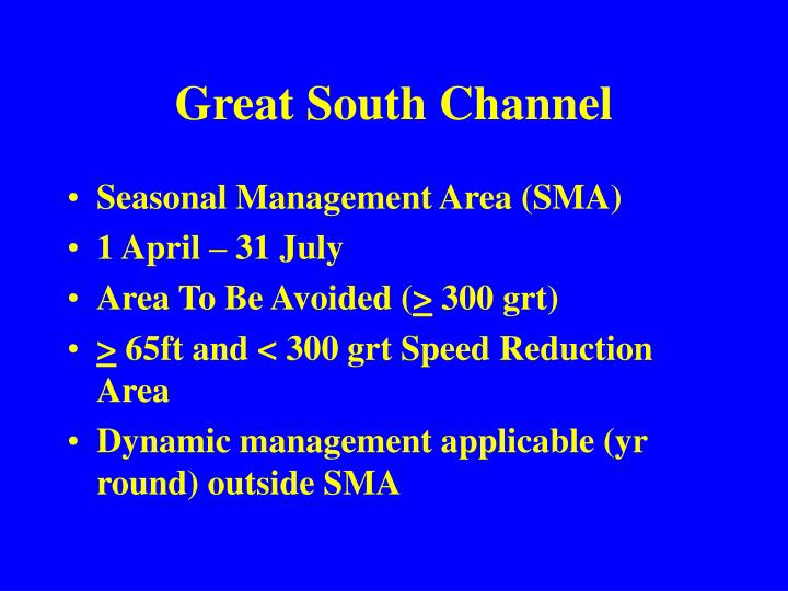 Great South Channel