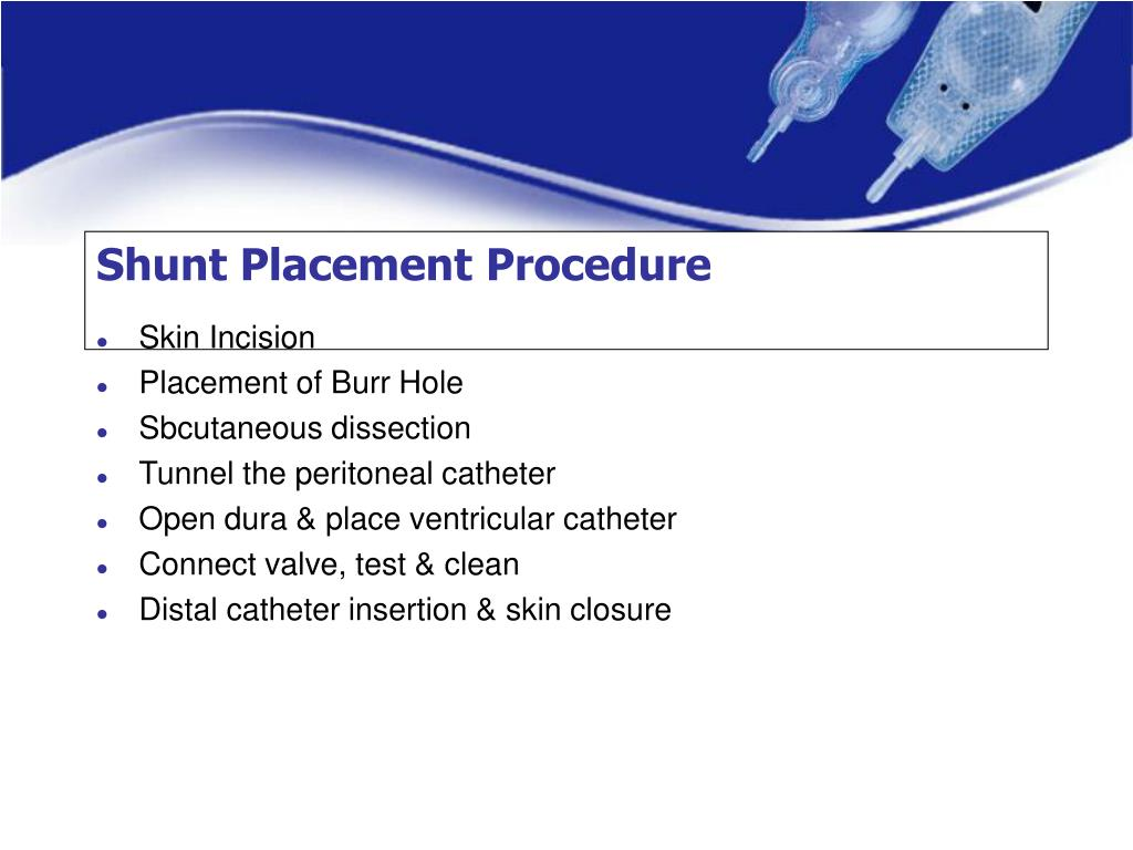 Shunt Placement Procedure