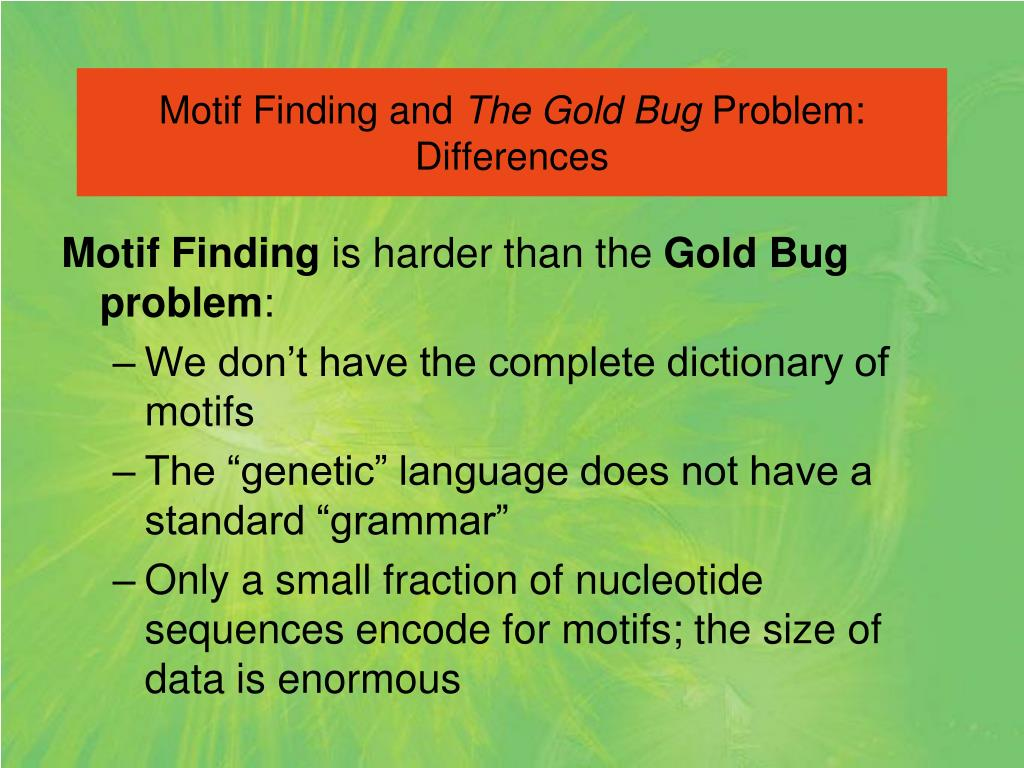 Motif Finding and