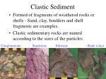 clastic sediment40
