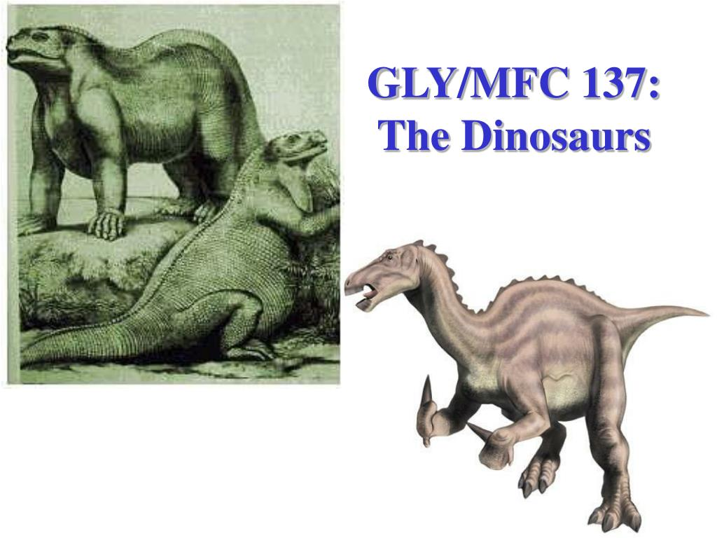 gly mfc 137 the dinosaurs l.