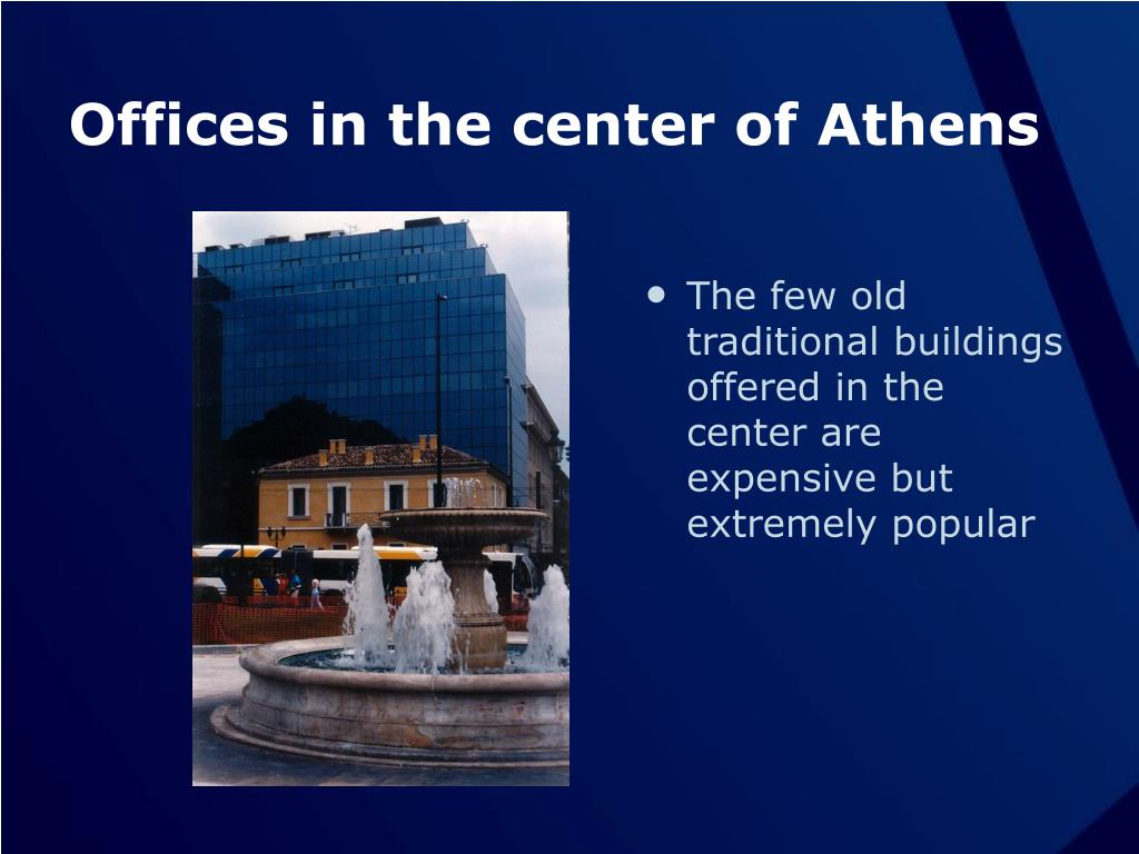 Offices in the center of Athens