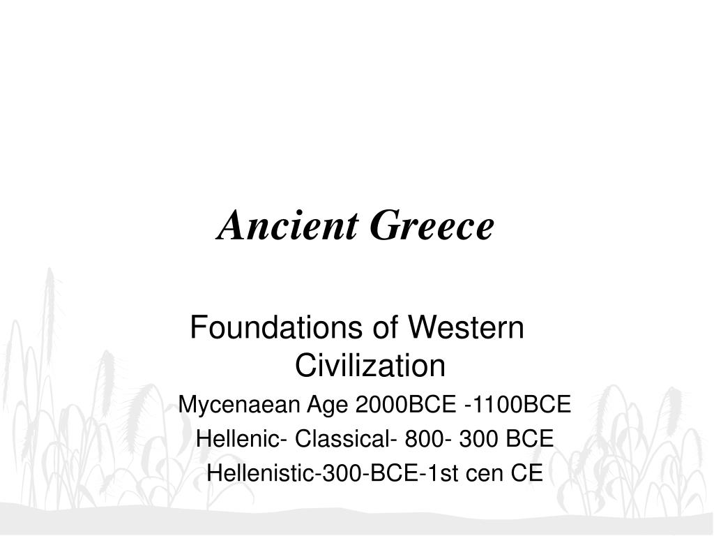 ancient greece l.