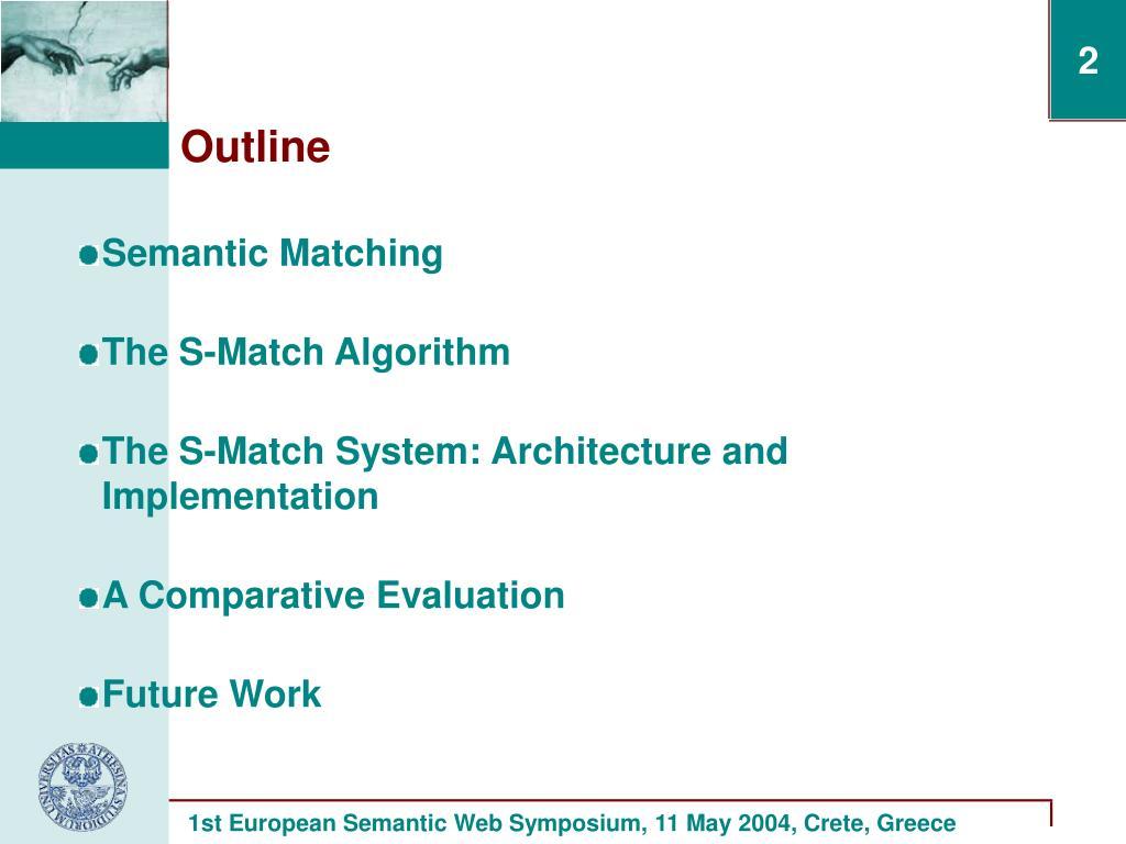 Semantic Matching