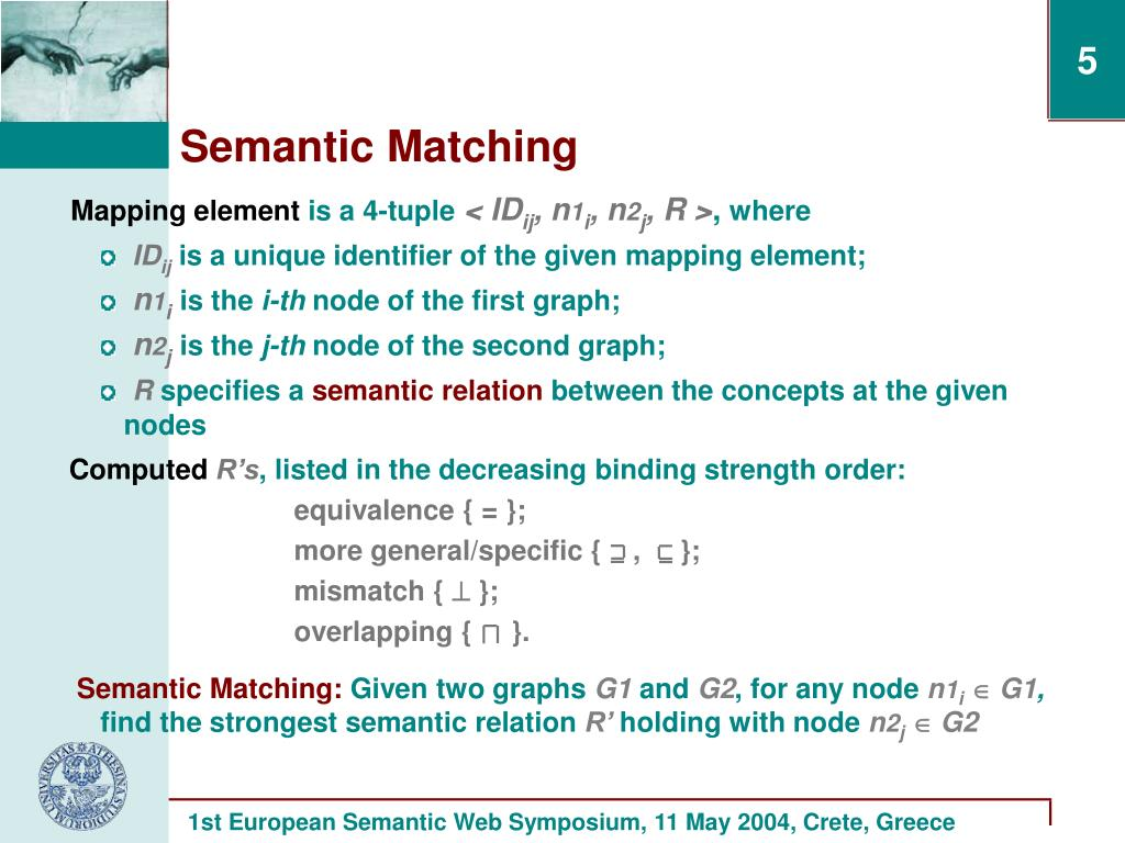 Mapping element